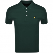 Lyle And Scott Short Sleeved Polo T Shirt Green
